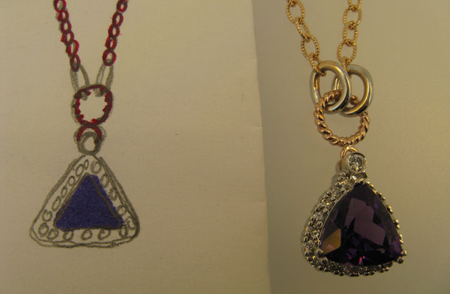 Wallach Custom Designs - OFriel_custom_necklace_for_AILEEN_003.jpg - brand name designer jewelry in Larchmont, New York