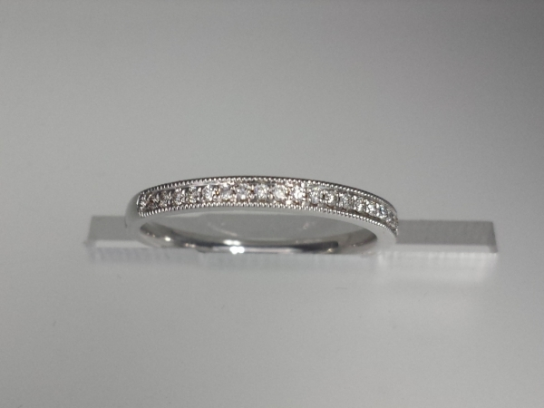 18k White Gold Antique-style  by Yael Designs