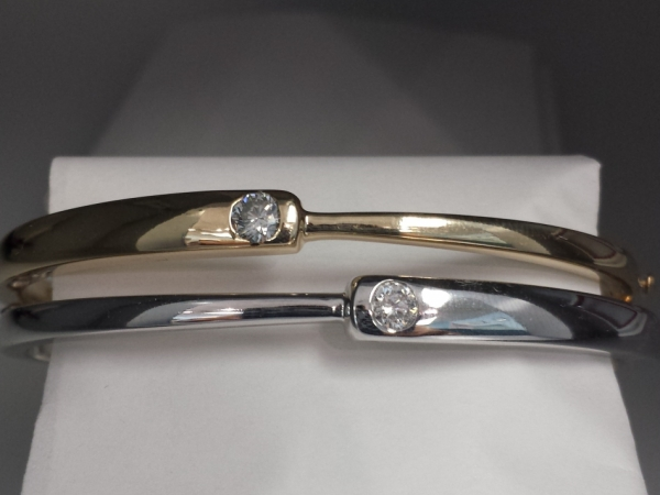 Our Favorite Bangle by Wallach Custom Designs