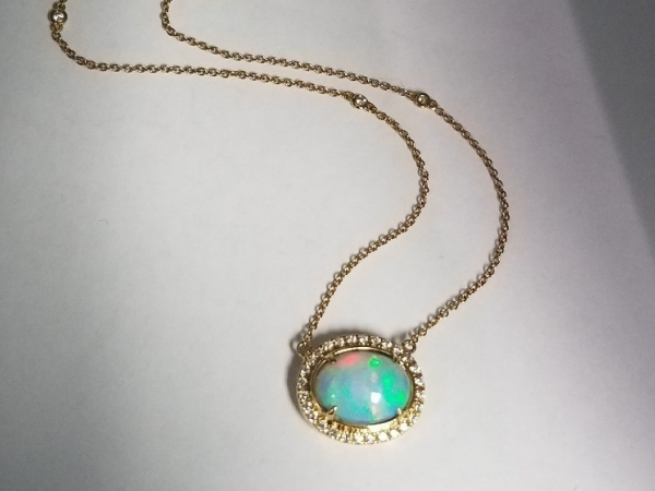 Opals and Diamonds by Yael Designs
