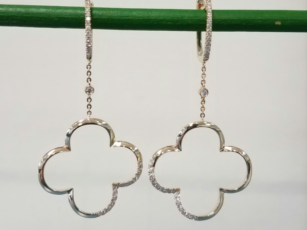 Clover Drop Earrings by Madison L
