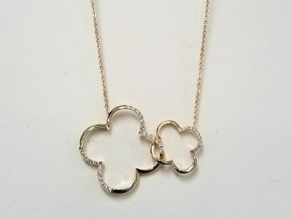 Double Clovers Necklace by Madison L