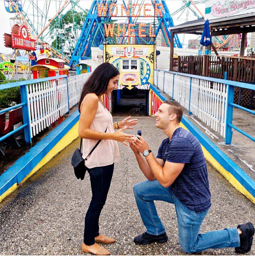Wonder Wheel, Great Proposal Ideas, She Said Yes, Wallach Jewelry Designs